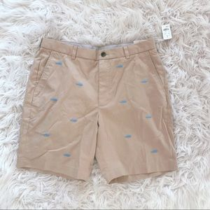 NEW • Brooks Brothers • Khaki Men's Shorts Whales